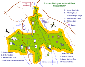 Matopas National Park Website